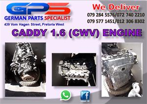 VW Caddy 1.6 (CWV) Engine for Sale