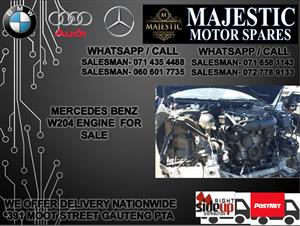 Mercedes benz W204 engine for sale