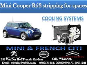 Wide Variety of Mini R53 Cooling systems for sale contact us today and get great deals!!!