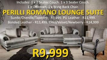 PERILLI ROMANO LOUNGE SUITE - FANTASTIC OFFER!!