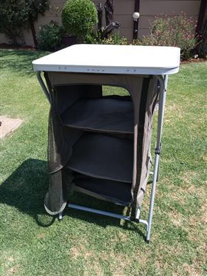 BARGAIN fold up camping cupboard - Camp master