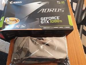 Geforce gtx 1080, brand new, never used with warranty -3 years.