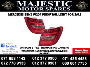 Mercedes benz w204 tail lights for sale