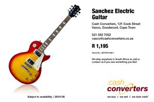 Sanchez Electric Guitar