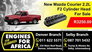 New Mazda Courier F2 2.2L Cylinder Head For Sale