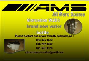 MERCEDES BENZ W203 WATER BOTTLE BRAND NEW FOR SALE