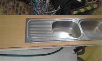 wash basin in wood deck