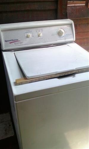 Speedqueen toploader washing machine