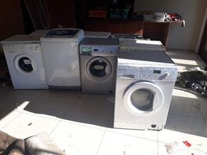 8 x assorted washing machines  (lot)  0813368974