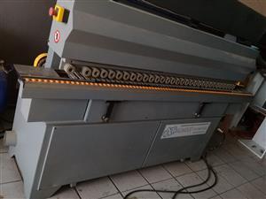 Panel saw and edging machine