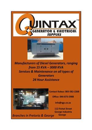 Quintax Generators