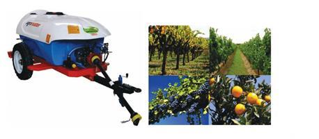 Agromaster 2000lt Trailed Garden Sprayer 2 Gun,1000m Hose New Implement