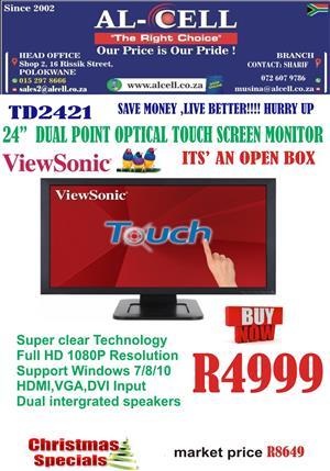 Viewsonic Dual Point Optical Touch Screen Monitor