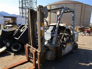 Nissan YGL02A30U Forklift - ON AUCTION