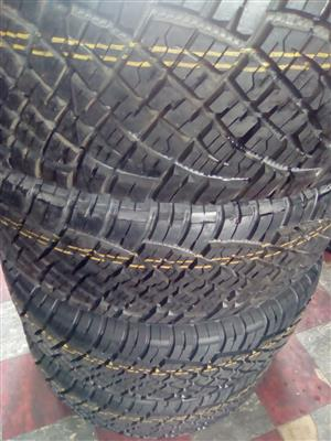 General grabber tyres A/T