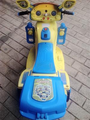 kids battery operated bike