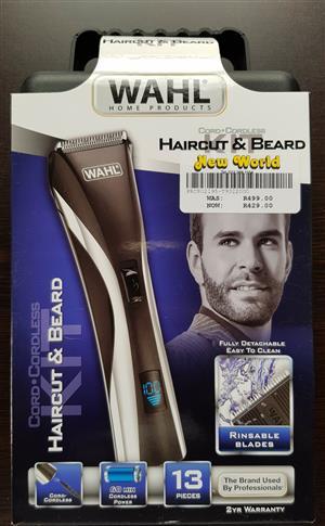 WAHL Haircut & Beard Kit