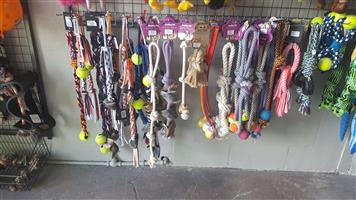 Interactive rope toys available at PETS4LIFE BRACKENFELL