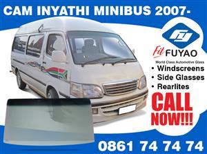 Brand new windscreen for Inyathi Minibus 2007- model #5477