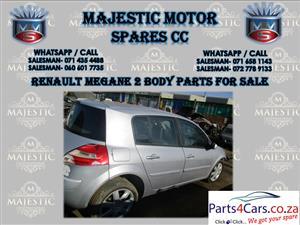 Renault megane 2 body parts for sale