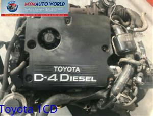 TOYOTA COROLLA/AVENSIS/VERSO 2.0L, 1CD engine Complete