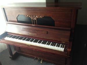 Rekewitz Upright Piano For Sale