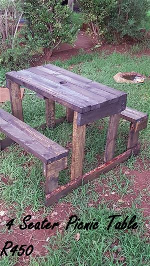 4 seater picnic table