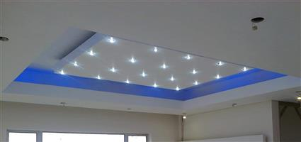 Design ceilings & dry wall partitions