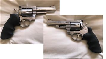 Handguns for sale Ruger revolver ,stainless steel 4.5 inch barrel and CZ 75 Pistol, semi-auto