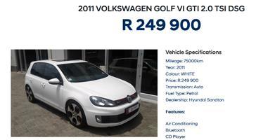 2011 VW Golf GTI DSG