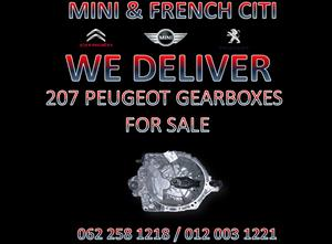 207 PEUGEOT GEARBOXES FOR SALE AT MINI AND FRENCH CITI