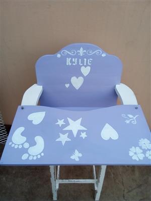 Kiddies high chair
