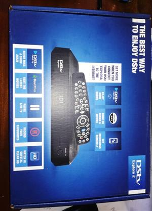 2 x DSTV EXPLORA BRAND NEW .R500 EACH