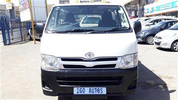 2012 Toyota Quantum 2.5D 4D LWB panel van