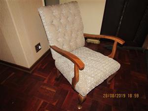 Classic antique armrest Chair.