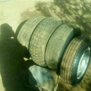 rims,tyres, Jack for sale