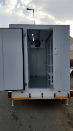 Mobile Cold Room Refrigerated trailer