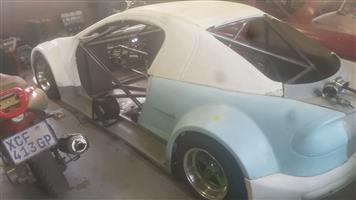 OPEL TIGRA ROLLING CHASSIS