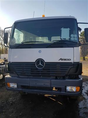2005 Mercedes-Benz Atego, 2628 tipper truck. 10Cube tipper