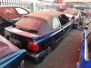 Vw Golf 3 cabriolet STRIPPING FOR SPARES