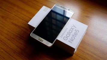 AS NEW SPOTLESS SAMSUNG GALAXY NOTE 5 IN PERFECT WORKING CONDITION