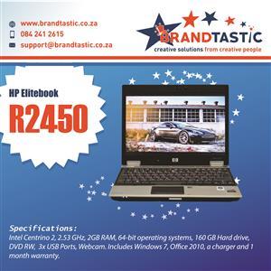 HP EliteBook 2530p Laptop @ R2450