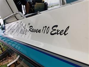 RAVEN 170 Exel with 125 Mariner