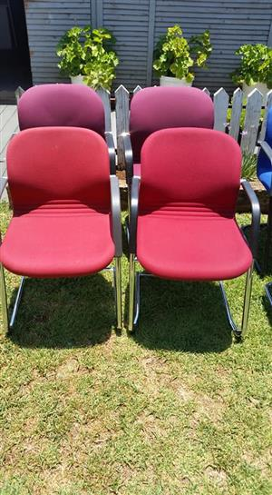 6x Bordroom chairs for sale