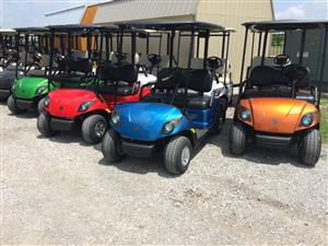 Electric and gas golf carts for sale