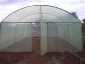 Greenhouse for Sale from Sunrise Agrifarm with 200 micron new white plastic