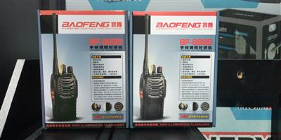 Baofeng BF-888s two way radio black brand New on special
