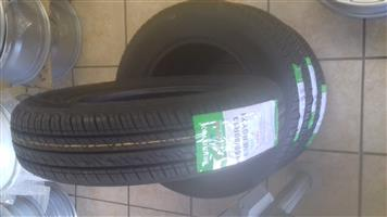 155/80/13 brand new tyres R525
