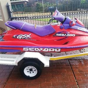 Stripping Seadoo Gsx limited 951