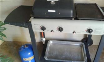 Bush Baby Gas Braai with gas bottle for sale